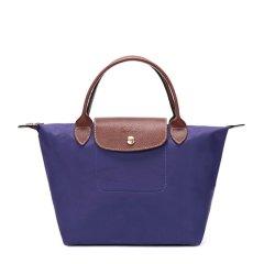 Longchamp 珑骧 LE PLIAGE系列 女士尼龙S号短柄折叠饺子包手提包图片