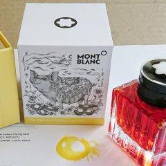 MontBlanc/万宝龙 笔具耗材 替换芯 笔芯  原子笔 高跟瓶装墨水 非碳素染料墨水 钢笔水 墨囊 一次性墨水胆 耗材配件图片