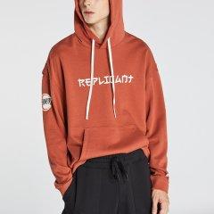kktp 复制人系列卫衣 男士套头上衣  潮牌上衣 宽松运动套头卫衣图片