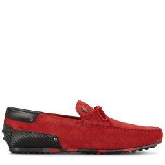 Tod's/托德斯男士男士乐福鞋Tod's for Ferrari City系列小山羊皮豆豆乐福鞋图片