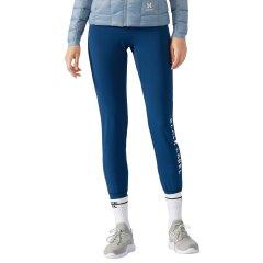 美国HOTSUIT运动裤女2018秋季新款弹力修身收脚运动健身针织长裤图片