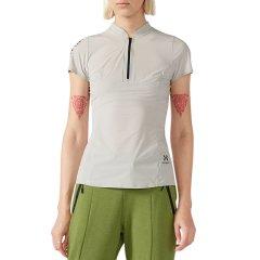 美国HOTSUIT运动短袖女夏季新款polo衫薄款透气修身运动上衣图片