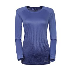 marmot/土拨鼠2018新款户外防紫外线速干透气女式长袖T恤S49630   紫外线防护指数UPF50速干针织面料图片