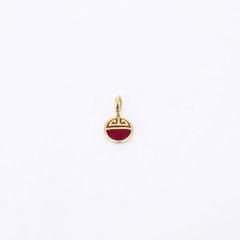 【Designer Jewelry】GONG XI LI/宫喜礼 珠串925银三倍加厚包18K金可作手串配珠/项链吊坠 福星高照图片