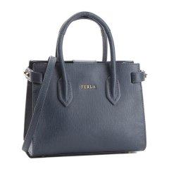 FURLA/芙拉 女士金属件皮质手提包斜挎包单肩包纯色女包 多色可选图片
