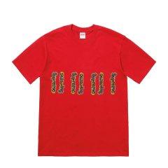 Supreme 18SS Gonz Logo Tee 毛毛虫 艺术家 logo 短袖 t恤图片