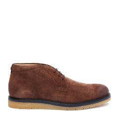 HUGO BOSS/雨果波士牛皮材质纯色系带男士休闲运动鞋图片