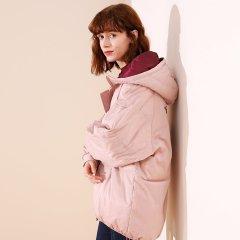 TATU/她图宽松短款连帽加厚面包服长袖休闲女士棉服图片