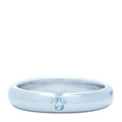 【Designer Jewelry】angs/谙诗 925银雨滴情侣对戒指环 浪漫水滴 滴水穿石图片