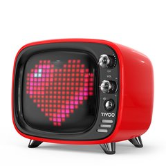 Divoom/地纹 Tivoo像素电视蓝牙音箱TV录音闹钟少女心小音响可爱迷你复古文艺无线创意手机低音炮新款网红抖音图片