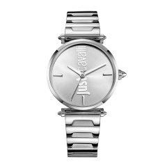 JUST CAVALLI/JUST CAVALLI新潮ins网红款 钢带精钢个性休闲logo设计时尚手表女 JC手表图片