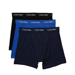 Calvin Klein/卡尔文·克莱因  男士组合套装四角平角内裤  实惠3条装 NU2666图片