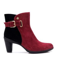 COZY STEPS/COZY STEPS 羊反绒皮带扣女士高跟鞋图片