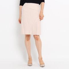 COUP DE CHANCE/COUP DE CHANCE 女士简约优雅半百褶拼接包臀半身裙18773193图片