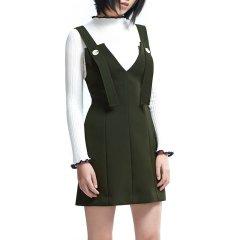 PORTSPURE/PORTSPURE2018秋冬新款时尚个性女士连衣裙RA9D008GWP006图片