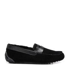 COZY STEPS/COZY STEPS牛皮+羊皮毛一体男士豆豆鞋图片