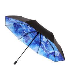 MISS RAIN/MISS RAIN 2018新品 十二星座晴雨伞 双层防晒 黑胶遮阳伞图片