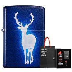 芝宝美国原装煤油防风zippo打火机 彩印新年一鹿有你 送男友礼物图片