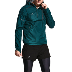 HOTSUIT/HOTSUIT发汗服男士跑步闷汗上衣连帽健身半拉链跑步桑拿衣 56090000图片