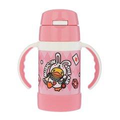 THERMOS/膳魔师 儿童吸管保温杯适用于5个月以上宝宝双耳手柄方便抓握280ml FEC-283S