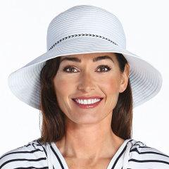 Coolibar 多国防晒机构认证 Ribbon 专利超轻透气女士遮阳帽 UPF50+图片
