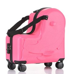 【HT666】Toboog/途帮儿童行李箱PC/ABS中性款式可坐可骑20寸拉杆箱男女宝宝卡通旅行箱图片
