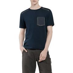 HOTSUIT/后秀 男款圆领短袖T恤黑标系列休闲短袖衫57028007图片