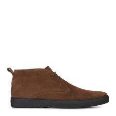 Tod's/托德斯男士棕色小山羊皮踝靴图片