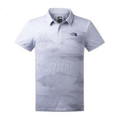 北面/TheNorthFace 2017春夏新品男款舒适透气快干短袖T恤POLO衫2SLW图片