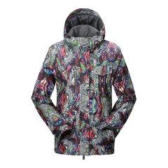 VILL/VILL 男款单板滑雪服 防寒保暖防风防水冲锋衣滑雪衣男图片