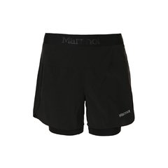 marmor/土拨鼠2018新款户外轻量透气弹力运动速干女士短裤S57530   裤脚开叉设计更具运动性图片