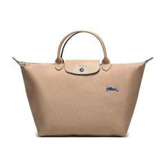 Longchamp/珑骧 女士LE PLIAGE系列织物尼龙大号短柄可折叠手提包 1623刺绣图片