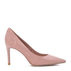 【17春夏】BENATIVE/本那 纯色刺绣单鞋 真丝刺绣高跟鞋 BN01712801图片