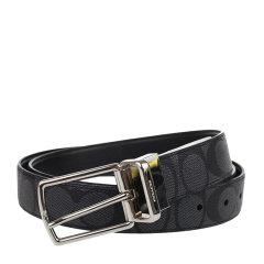COACH/蔻驰 PVC 男士均码针扣皮带腰带配饰 64825图片