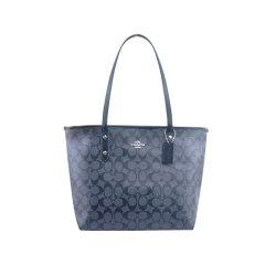 COACH/蔻驰ROGUE系列女士PVC大号C纹印花购物袋托特包手提单肩包F58292图片