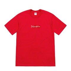 【预售】Supreme 19SS Swarovski Box Logo Tee 施华洛世奇 短袖t恤图片