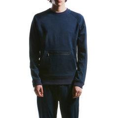 HOTSUIT/HOTSUIT 运动卫衣男士圆领休闲卫衣 BLACK LABEL后秀黑标56048070图片