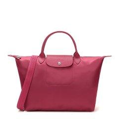 Longchamp/珑骧 Le Pliage Néo系列 女士时尚尼龙配皮中号经典短柄手提包单肩包斜挎包饺子包女包 1515578 多色可选图片