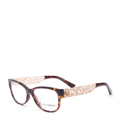 Dolce&Gabbana/杜嘉班纳眼镜框架 DG3185A女士亚版眼镜 镂空镜腿近视光学镜架图片