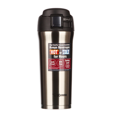 ZOJIRUSHI/象印 泰国进口不锈钢真空保温保冷汽车杯车载保温瓶咖啡杯水杯子480ml SM-YAF48图片