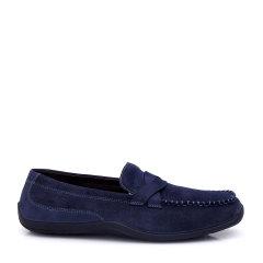 COZY STEPS/COZY STEPS 牛皮舒适豆豆鞋男士休闲鞋 海军蓝 42图片