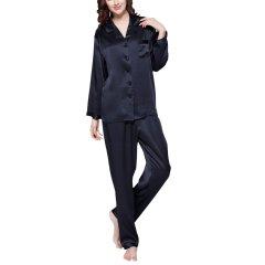 【DesignerWomenwear】LILYSILK/莉莉秀客女睡衣/家居服真丝睡衣22姆米百分百桑蚕丝家居外穿2102图片