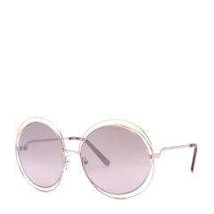 CHLOE/克洛伊太阳镜CE114S女士圆框复古墨镜 时尚落空设计太阳眼镜图片