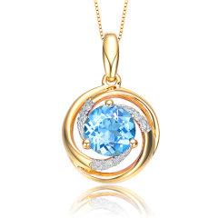 ENZO/ENZO 经典彩宝系列 托帕石 石榴石 橄榄石 18K金宝石吊坠(多款可选)图片
