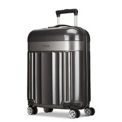 TITAN/TITANSPOTLIGHTFLASH系列万向轮旅行箱女拉杆20寸/24寸/28寸登机箱行李箱中性款式PC/ABS图片