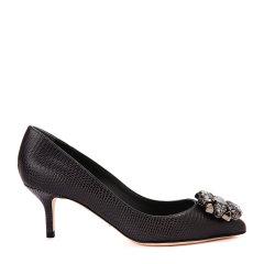 Dolce&Gabbana/杜嘉班纳高跟鞋-女士时尚皮鞋(高跟)90% 牛皮 10% 羔羊皮图片