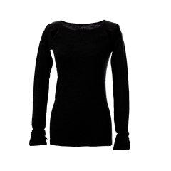 ARETE/ARETE 露背羊绒上衣女士长袖T恤图片