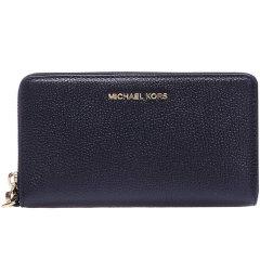 MichaelKors/迈克·科尔斯MK女士Saffiano皮革粗纹皮革女士钱包32F6GM9E3L图片