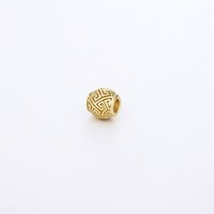 【Designer Jewelry】GONG XI GONG LI/宫喜宫礼珠串925银三倍加厚包18K金可作手串配珠/项链吊坠图片