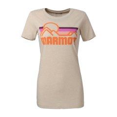 MARMOT/土拨鼠 女士T恤-休闲棉质短袖 F900446 【2017新款】图片